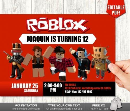 Roblox Invitation