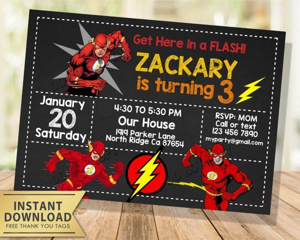 the flash invitation