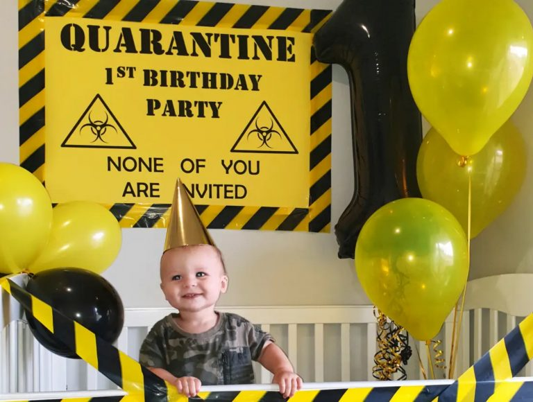 Quarantine Birthday Party Theme