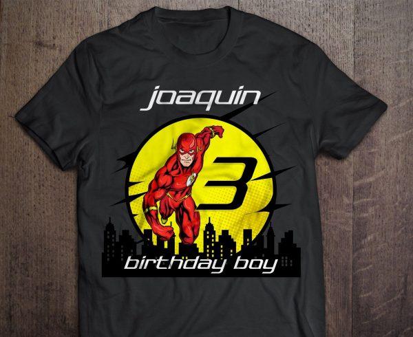 Custom Flash Birthday Shirt