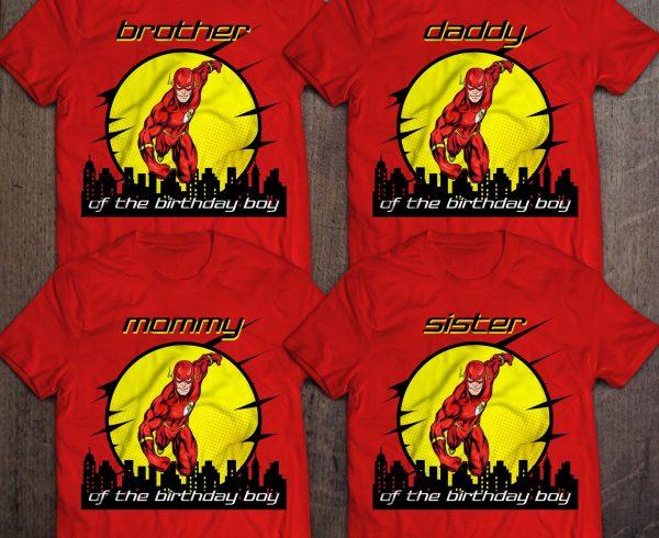 Personalized Flash Shirt
