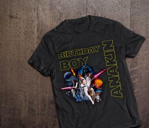 Star Wars Birthday Shirts
