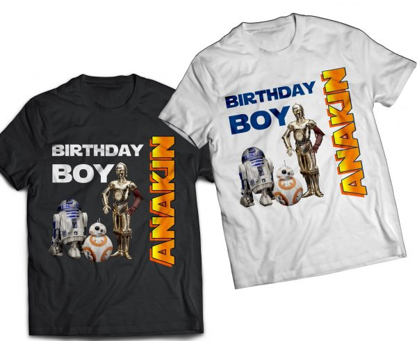 Star Wars Droids T-Shirts