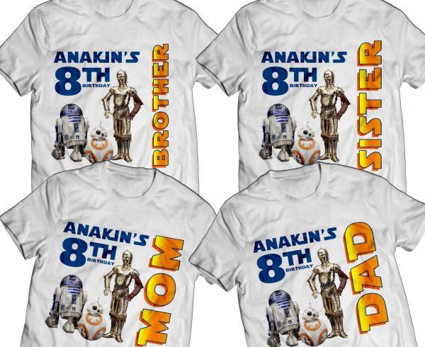 Star Wars Birthday T-Shirt