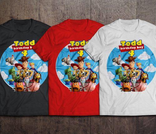 Toy Story Birthday Shirts